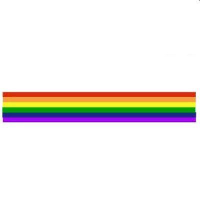 Gay Pride Sticker Rainbow - Pride Strip Sticker
