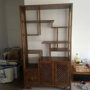 Oriental Display Shelf In Great Condition Bookcases Shelves