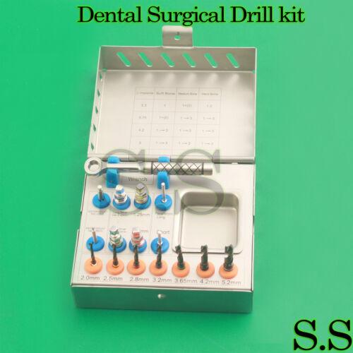 Surgical Drills Kit Dental Implant Basic Tools Ratchet DN-2252