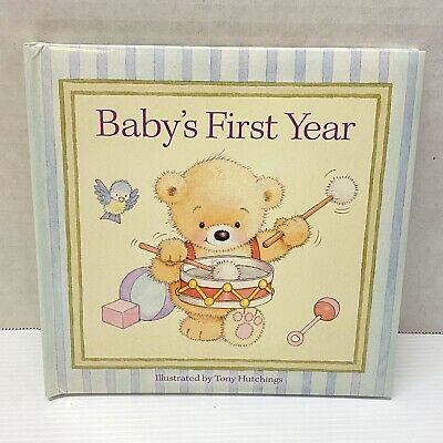 Babys First Year Book By Tony Hutchins - NEW