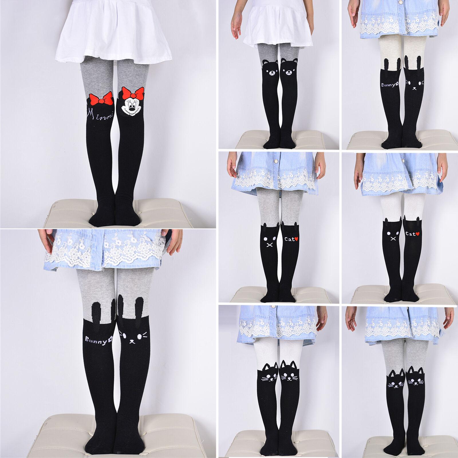 Kinder Mädchen Thermo Strumpfhose Strümpfe Leggings Winter Leggins Hosen Socken