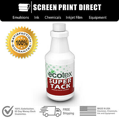 Ecotex Super Tack - Premium Pallet Adhesive For Screen Printing - Quart 32oz