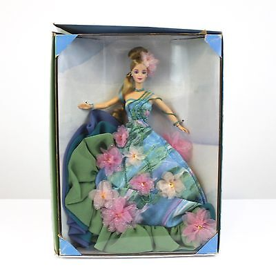 NIB BARBIE Claude Monet Water Lily Doll Limited Edition First in Series Defects