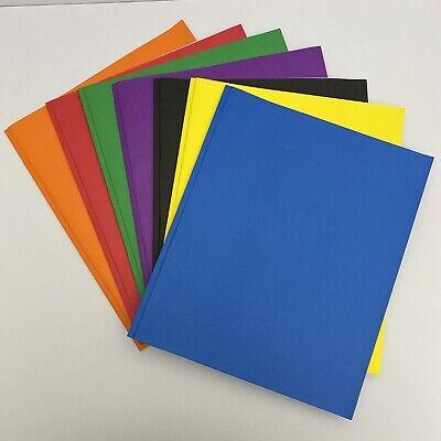 25 Packmulti-colortwin Pocketpaper Folders Wmetal Fastener Clasps