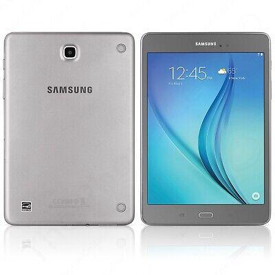 Samsung Galaxy Tab A SM-T350 8-Inch Tablet (16 GB, Smokey Titanium)