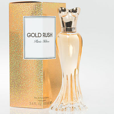 GOLD RUSH * Paris Hilton 3.4 oz / 100 ml Eau de Parfum (EDP) Women Perfume Spray