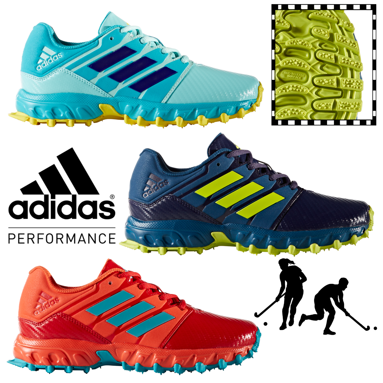 e238e423aa8 Details about adidas Lux Pro Performance Field Hockey Shoes Womens Kids  Sports Trainers