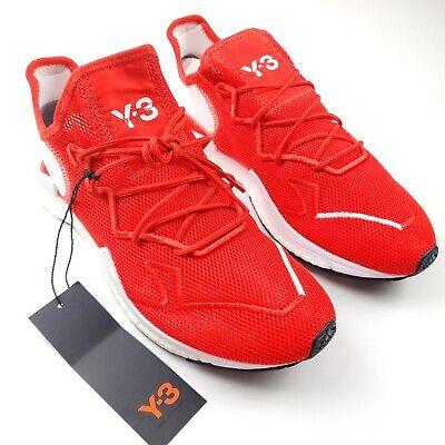 $300 Adidas Y-3 Adizero Yohji Yamamoto Running Shoe Sneaker Mens 11 Red White