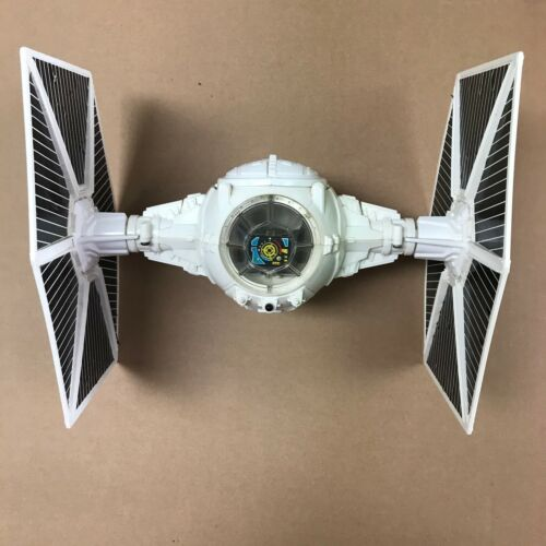 1978 Kenner White Tie Fighter Ship Complete Decals Light Tested Works 3.75 Inch