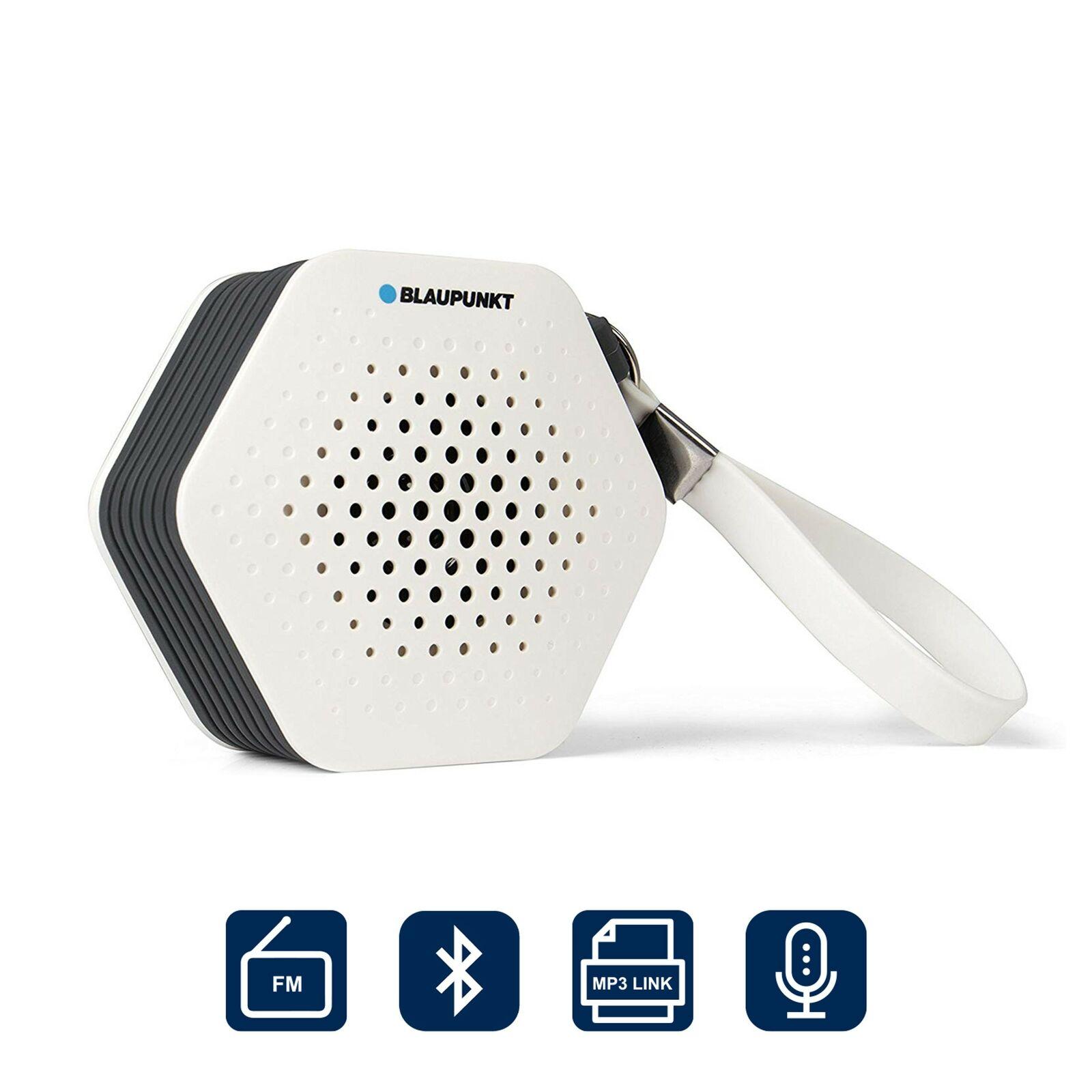 BLAUPUNKT Badradio SRB 10 UKW FM Duschradio Badezimmer Camping Radio Bluetooth