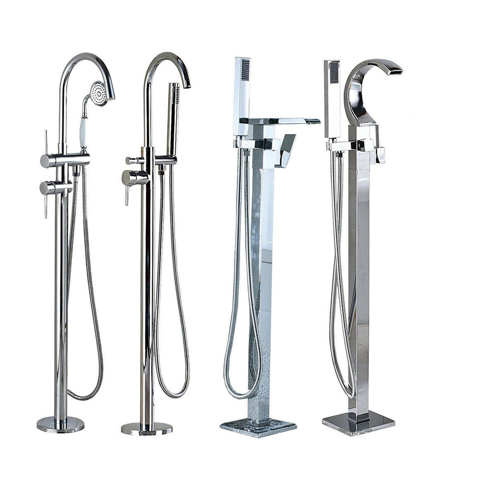 freestanding tub filler bathtub faucet floor mounted