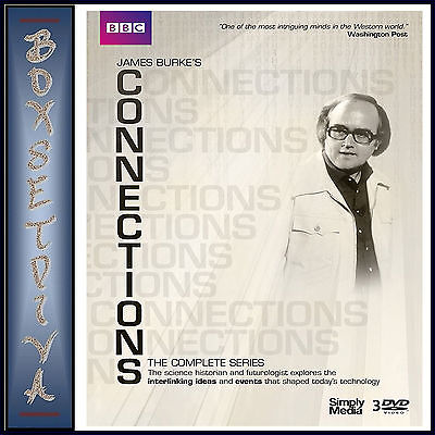 Connections   The Complete Series   James Burke      Brand New Dvd Boxset