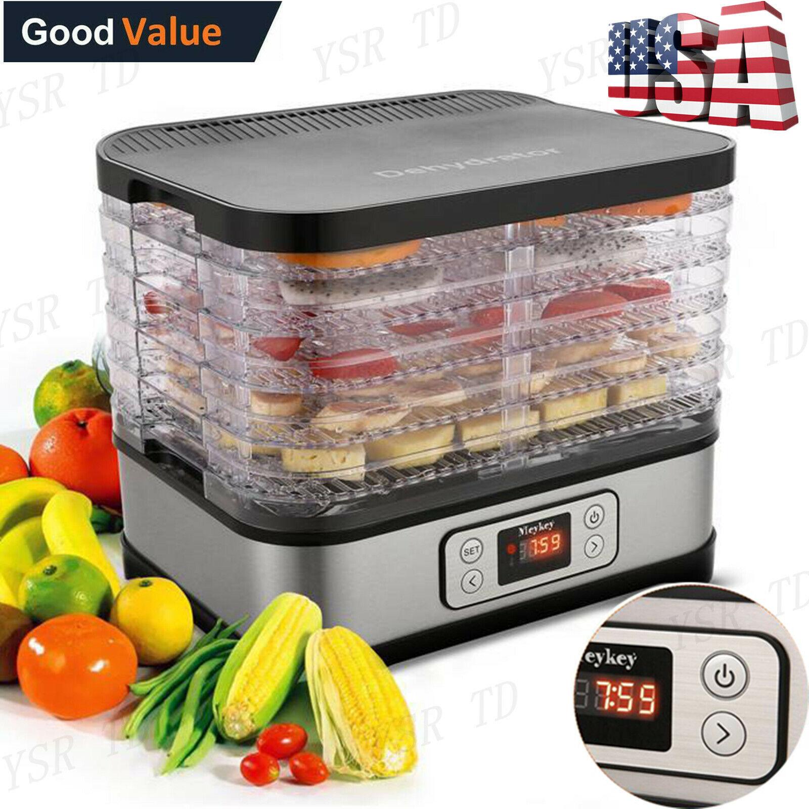 5 8 tier electric food dehydrator fruit