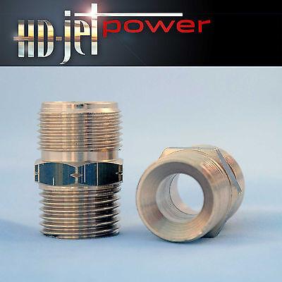 Doppelnippel Kränzle Schlauchverbinder für HD-Schläuche M22x1,5 für Kärcher