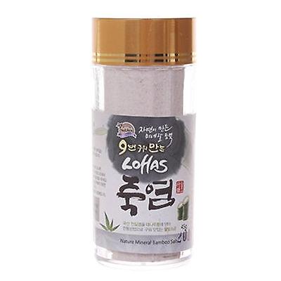 Lohas 9 Times Roast Bamboo Salt 100% 45g Powder Korea Salts Treat Inflammatory
