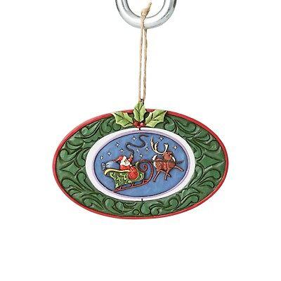 4058839 Jim Shore Christmas Ornament NIB Twas the night before Christmas