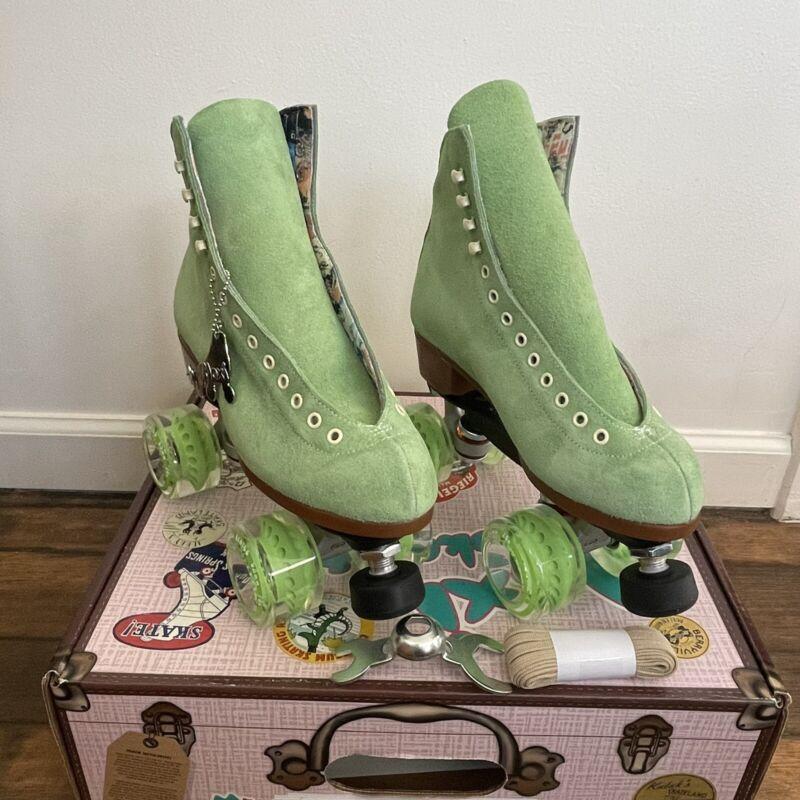 Moxi Lolly Roller Skates Honeydew Green Size 7 (Women's 8-8.5) Brand New
