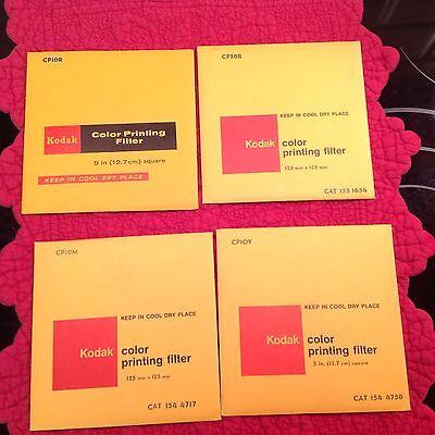 Фильтры Vintage Kodak Color Printing Filters