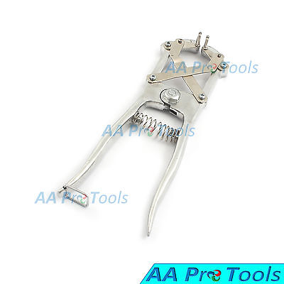 Aa Pro Elastrator Castrating Pliers Rubber Ring Applicator Large Silver Rings