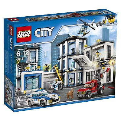 LEGO City Police Station Kit 60141 Cool Toy For Kids (894 Pieces) BRAND NEW
