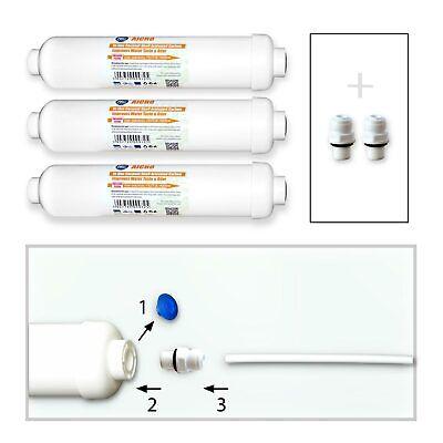 3x Wasserfilter Kühlschrankfilter für LG und SAMSUNG Kühlschrank (5,33€/1Stk) (Lg Kühlschrank Wasser Filter)
