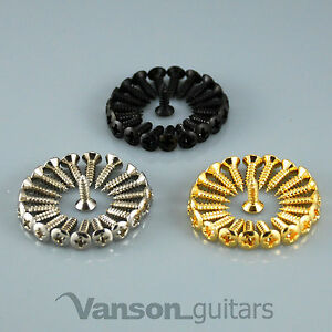 12-25-or-50-VANSON-Scratchplate-Pickguard-Screws-for-Strat-or-Tele-guitar