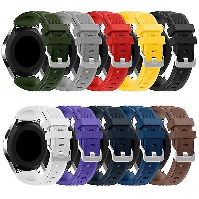 Sport Silicone Band Bracelet Replacement For Samsung Galaxy Watch 46mm Gear S3