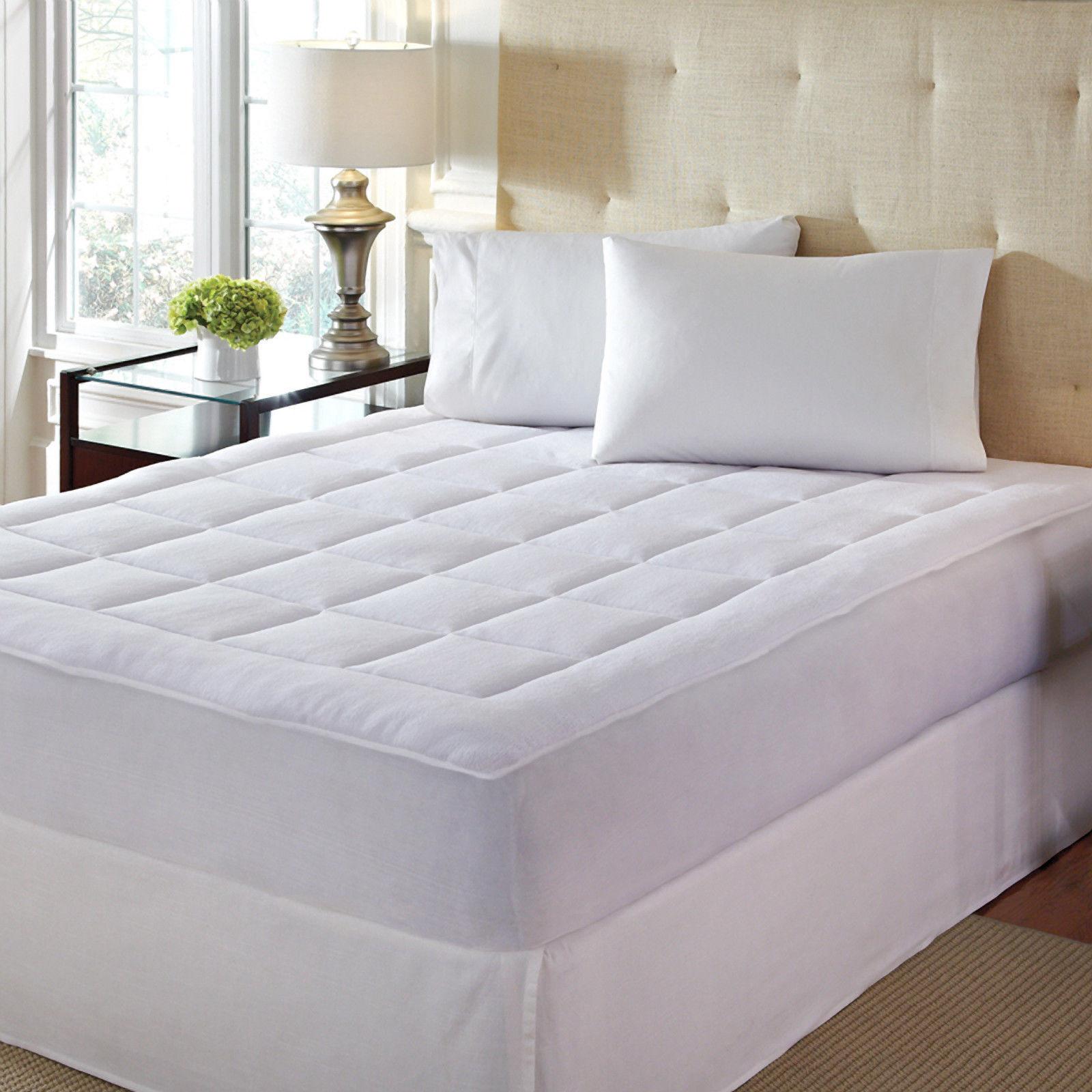 Dream Cloud Microplush Polyester The Dream Cloud microplush polyester mattress  pad ...