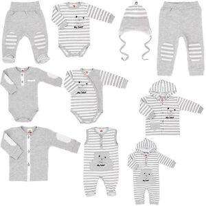 Erstlingsausstattung Baby Erstausstattung 100%BW -MyBear- Unisex 68 10tlg Makoma