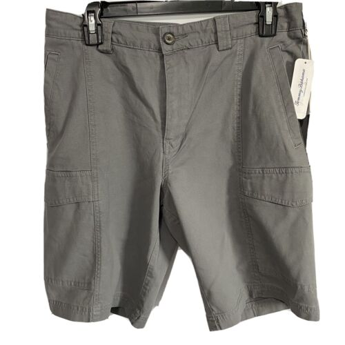 Tommy Bahama Men's Key Isles Cargo Shorts Size 30 Grey $89 Beach Golf Clothing, Shoes & Accessories
