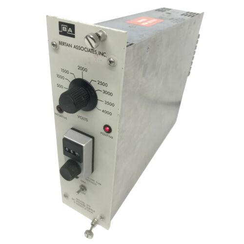 Bertan 315 0-5000V 0-5mA High Voltage Nim Bin Plug-In Module HV Power Supply