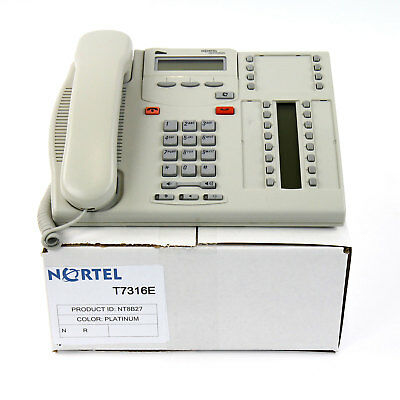 Nortel Norstar T7316e Platinum Avaya Phone- Bulk