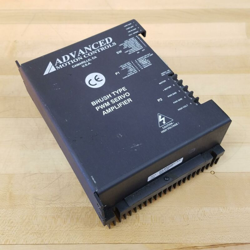 Advanced Motor Controls PWM Servo Amplifier - USED