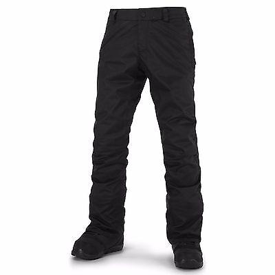 Tight Snowboard Pants - 2016 NWT MENS VOLCOM KLOCKER TIGHT SNOWBOARD PANTS $115 XL black waterproof