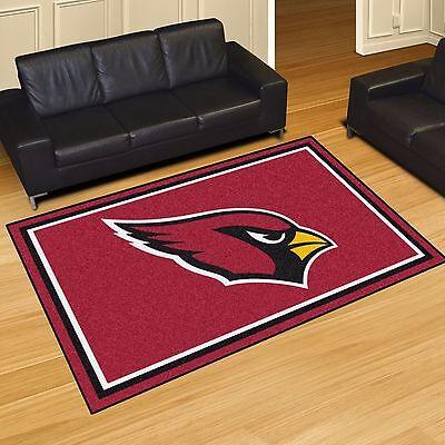 Arizona Cardinals Rug - Arizona Cardinals 5' X 8' Decorative Ultra Plush Carpet Area Rug