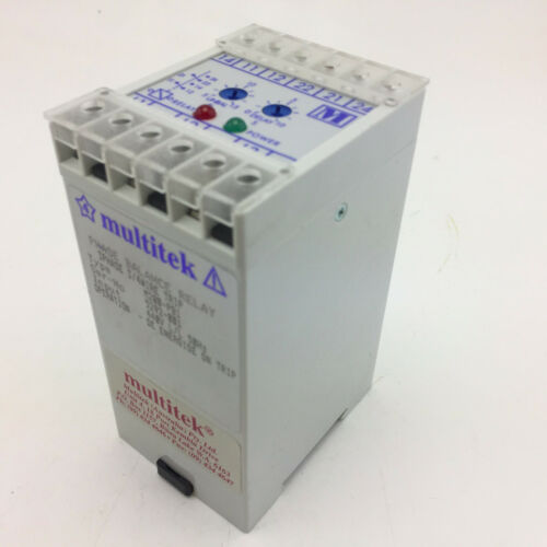 MULTITEK M200-PB1 Phase balance relay 3Phase 3/4Wire trip input 440V 50hz