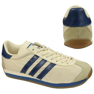 Adidas Originals Country OG Mesh Leather Lace Up Mens Trainers S32107 B71D