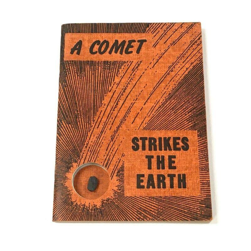 "Original 1942 ""A Comet Strikes the Earth"" Book by Nininger & meteorite specimen"