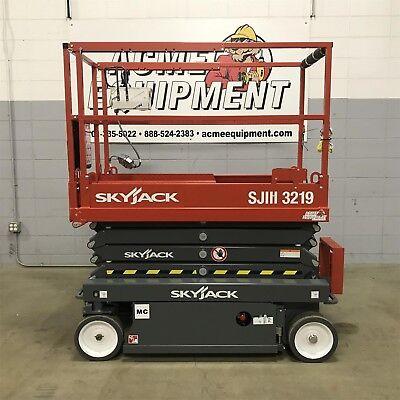 Brand New 2019 Skyjack Sjiii3219 19 Ft. Electric Scissor Lift