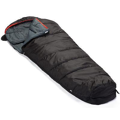 skandika Alaska Mumien Schlafsack Koppelbar bis-10°C RV Links 220x80cm Neu