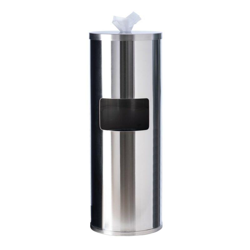 GoodEarth Stainless-Steel Floor Stand Wipe Dispenser