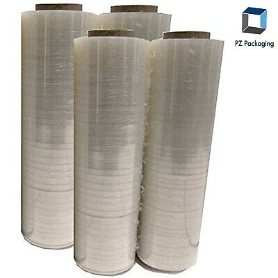 18 X 1000 85 Gauge Film Clear Pvc Body Plastic Shrink Hand Stretch Wrap Roll 4