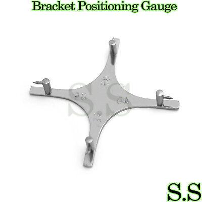 Star-like Bracket Positioning Gauge For Posterior Teeth Orthodontic Dental Inst