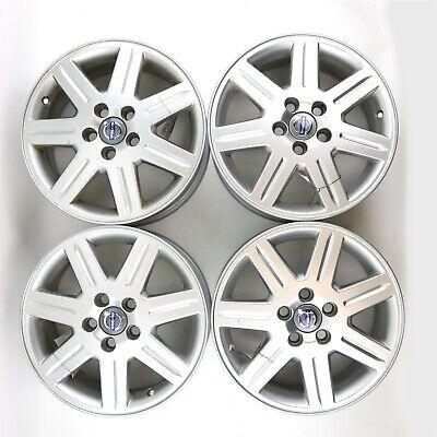 "Set of 4 Volvo OEM 16"" x 6.5"" CALIGO Alloy Rims Wheels for C30 C70 S40 V50"