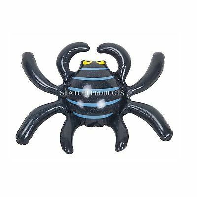 6 Halloween Decoration Inflatable Spiders Party Bag Fillers Wholesale Bulk Buy