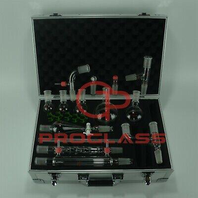 Proglass Organic Chemistry Kit 2440 Lab Glassware Kit With Cabinet Box