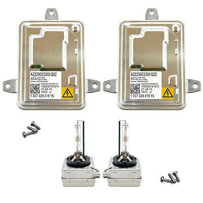 2x New 13-16 Dodge Dart Xenon Ballast HID D3S Bulb Kit Control Unit Module Lamp