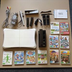 wii console, fit board, games Lauderdale Clarence Area Preview