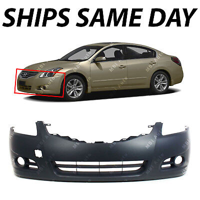 NEW   Primered Front Bumper Cover Fascia for 2010 2011 2012 Nissan Altima Sedan
