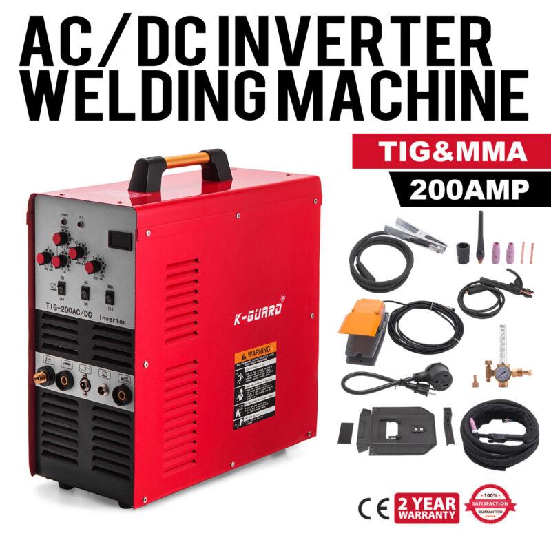 200A IGBT Square Wave AC/DC TIG/Stick Inverter Welder Aluminum TIG-200 110/230V